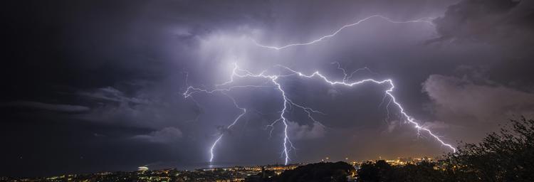 Tempesta di fulmini, Genova 15 settembre 2014